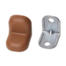 Уголок металл+пласт. маленький Капучино (Бук,Ясень)