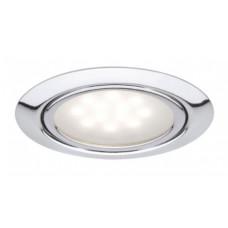 Светильник Одинарный светод. черный холодный 220В