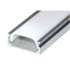 Профиль накладной для светодиодной ленты 16*6*2000 (комплект)