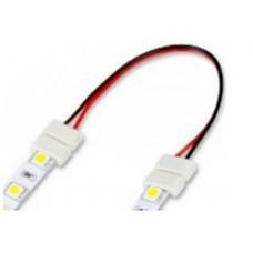 Коннектор для светод. лент двухсторнний с проводом